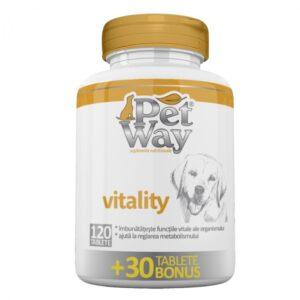 petway vitality suplimente caini